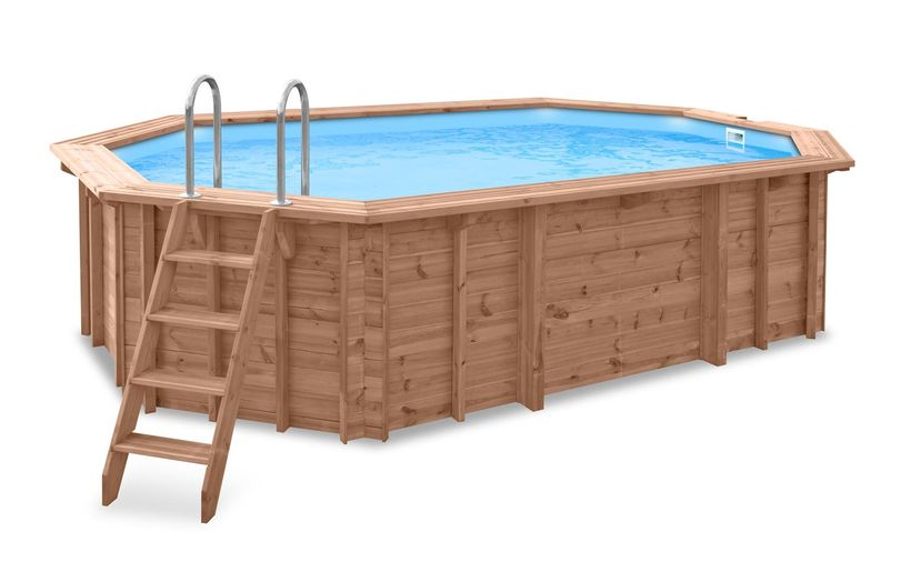 piscine bois enterree cash piscine