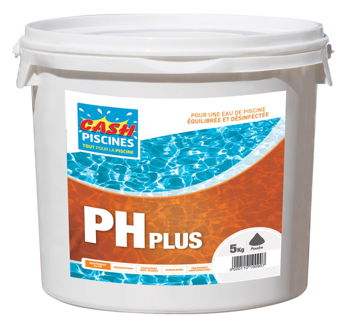 Ph plus 5kg cash piscines for Avis cash piscine