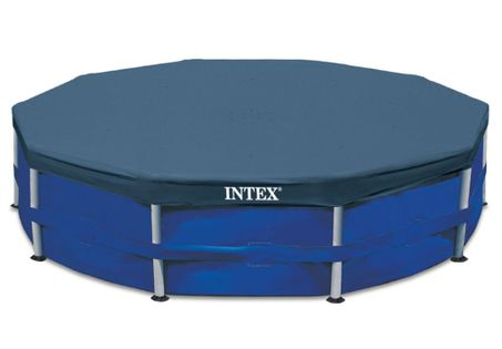 bache piscine intex ronde 4 57m cash piscines. Black Bedroom Furniture Sets. Home Design Ideas