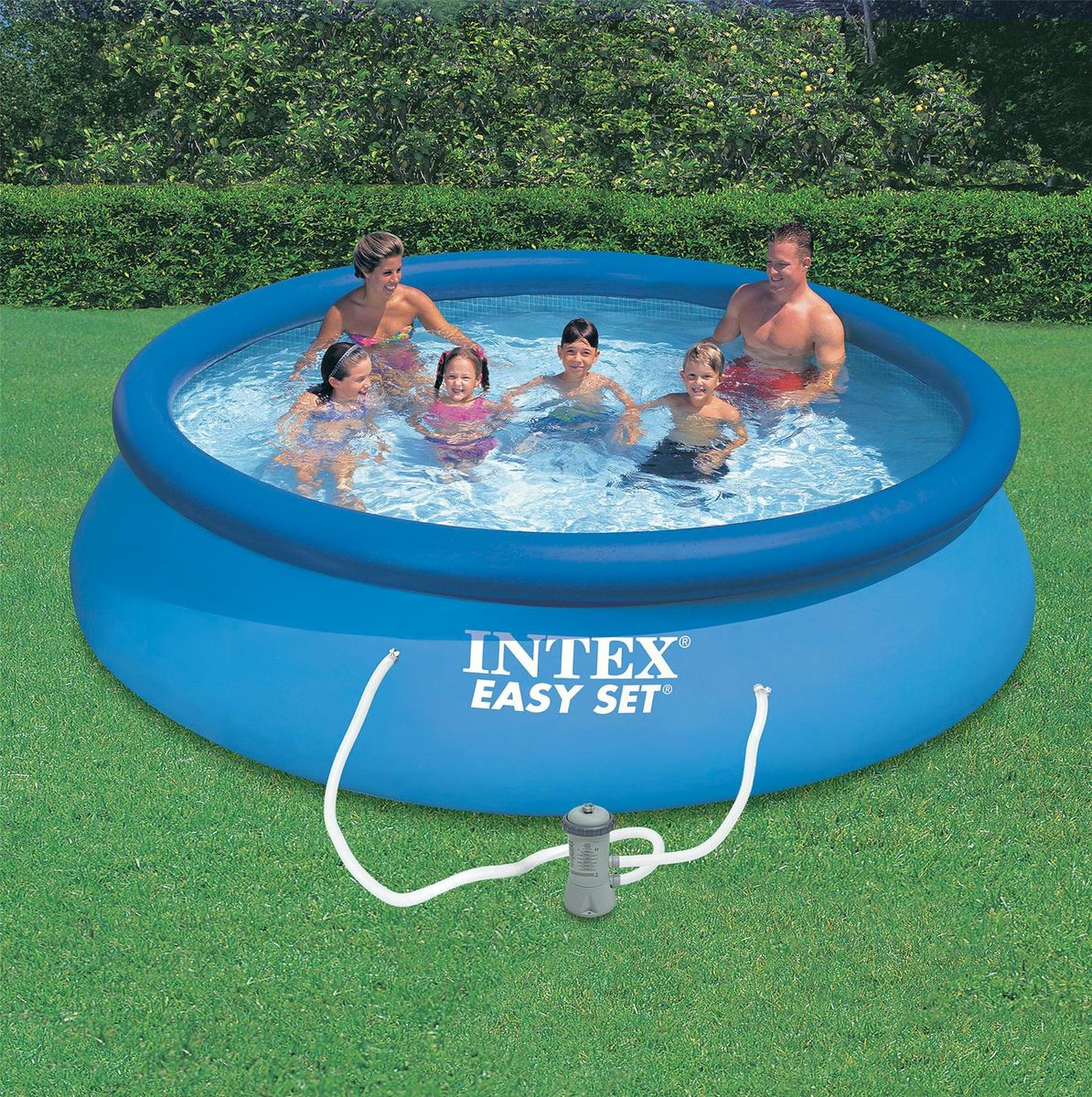 Piscine intex easy set 3 66x0 76 cash piscines - Piscine rectangulaire hors sol intex ...