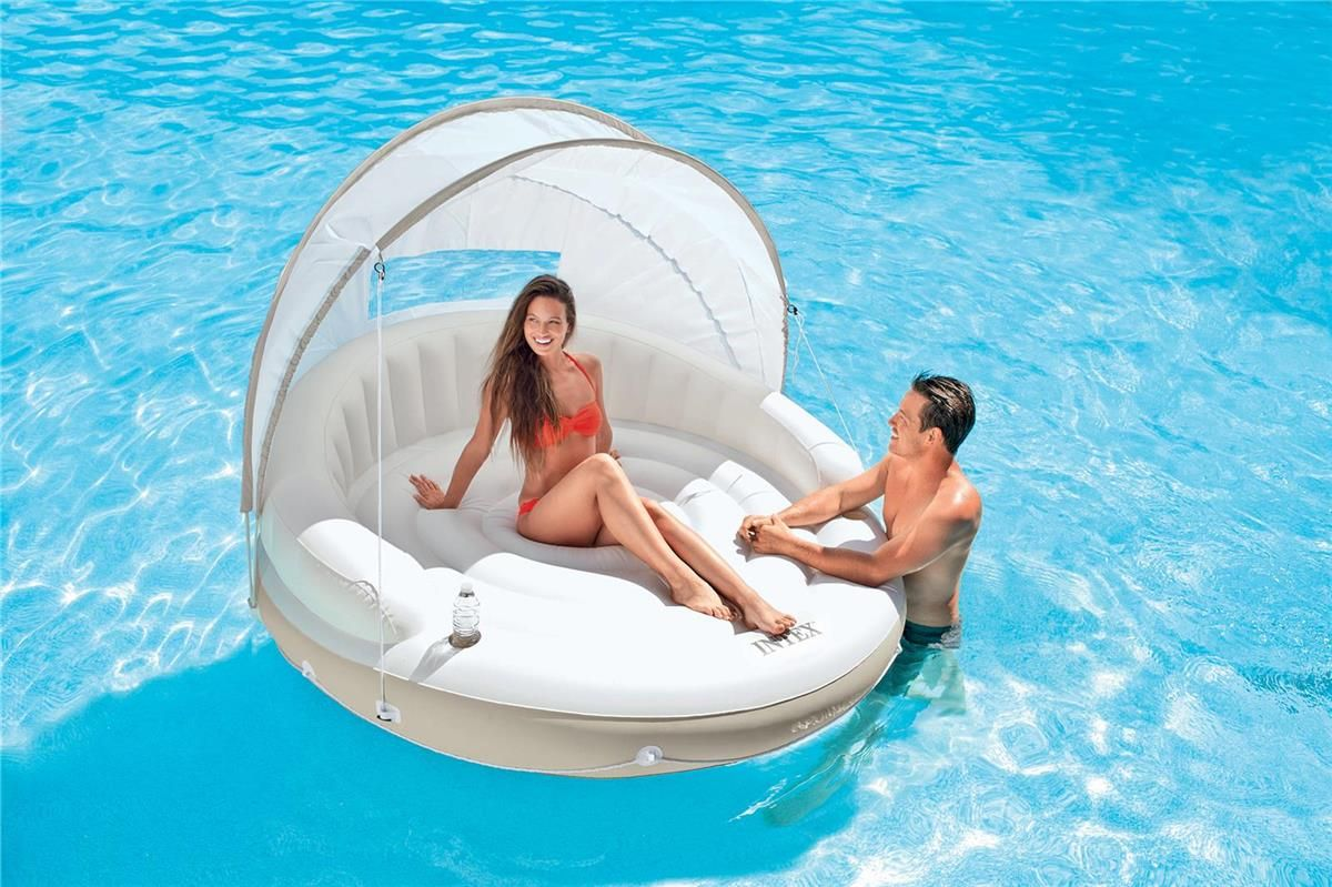 MATELAS GONFLABLE LOUNGE CARAÏBES