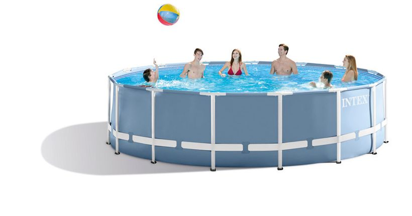 Piscine intex prism 4 57x1 22 cash piscines for Avis cash piscine